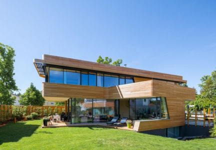 vue d'ensemble - Holistic Living Healthy par Graft Architects - Allemagne