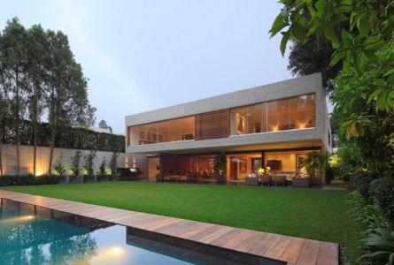vue d'ensemble - House-H par Jaime Ortiz Zevallos - Lima, Pérou