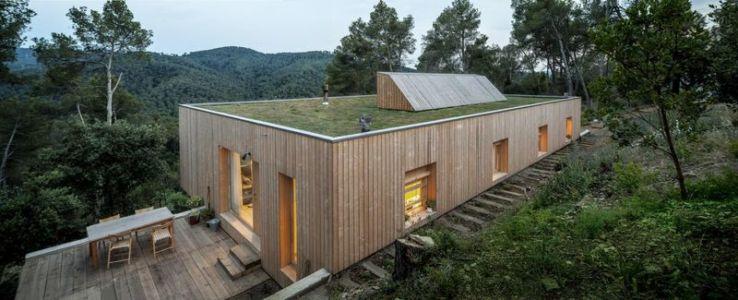 vue d'ensemble - House LLP par Alventosa Morell Arquitectes - Collserola, Espagne