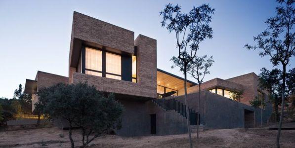 vue d'ensemble House-Molino par Mariano Molina Iniesta, Espagne