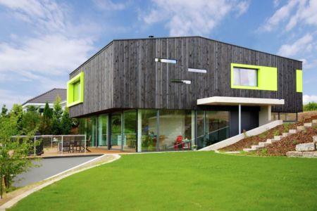 vue d'ensemble - House-Wilhermsdorf par René Rissland - Wilhermsdorf, Allemagne