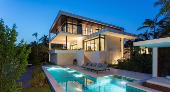 vue d'ensemble - Hucker Residence par Strang - Miami, USA