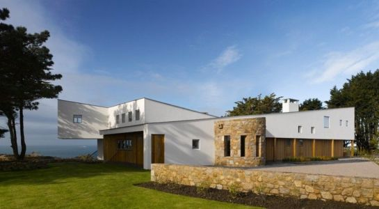 vue d'ensemble - Jersey House par Hudson Architects - Normandie, France