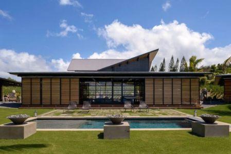 vue d'ensemble - Kapalua-Home par Olson Kundig Kaprzycki Designs - Hawaï, USA