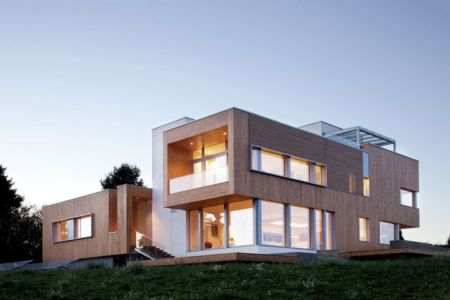vue d'ensemble - Karuna House par Holst Architecture - Newberg, OR, Usa