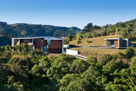 vue d'ensemble - Korokoro House par Parsonson Architects - Korokoro, Nouvelle Zélande
