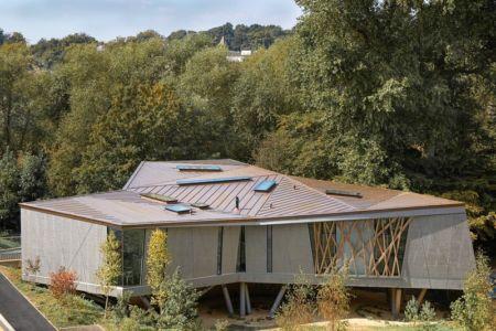 vue d'ensemble - Maggie's Oxford par Wilkinson Eyre Architects - Oxford, Royaume-Uni