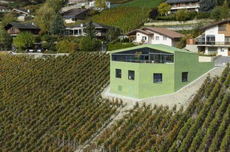 vue d'ensemble - Maison Iseli par François Meyer architecture - Venthôme, Suisse