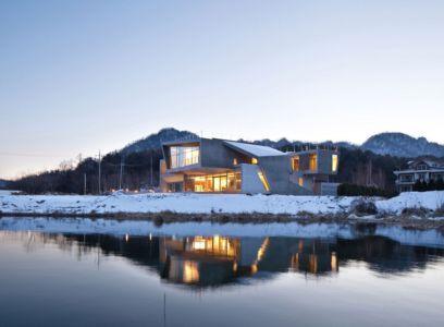 vue d'ensemble - Maison Rivendell par IDMM Architects - Corée du sud