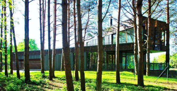 vue d'ensemble - Modern Family House par 4PLIUS Architects - Vilnius, Lituanie