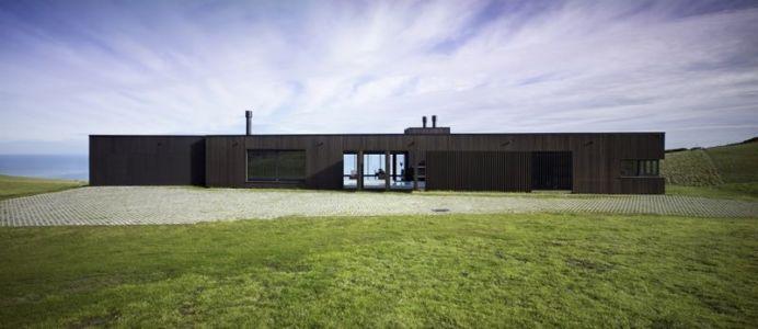 vue d'ensemble - Modern farmhouse par Pattersons - Muriwai, Nouvelle-Zélande