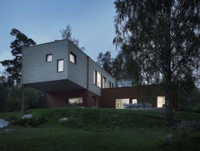 vue d'ensemble - PlayHouse par  Street Monkey Architects + Bjerking - Värmdö, Suède