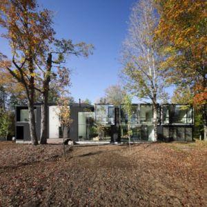 vue d'ensemble - Private Residence St-Sauveur par  Saucier + Perrotte architectes -  Saint-Sauveur, Canada