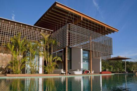 vue d'ensemble - Quinta-House par CANDIDA TABET ARQUITETURA - São Paulo, Brésil
