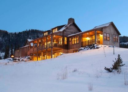 vue d'ensemble - Rocky Mountain retraite par Beck Building Company - Aspen Springs, Usa