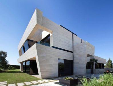 vue d'ensemble - SV-House par A-Cero - Seville, Espagne