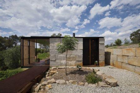 vue d'ensemble - Sawmill-House par Archier - Yackandandah, Australie