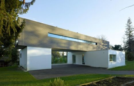 vue d'ensemble - Single-family-house par Christian von Düring architecte, Suisse