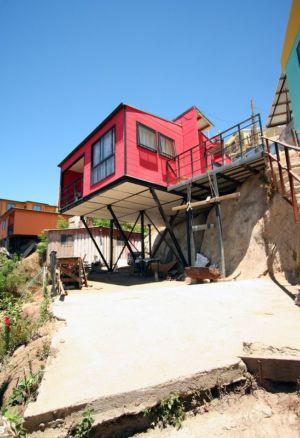 vue d'ensemble - Suarez-House par Arq2g-arquitectura - Valparaíso, Chili
