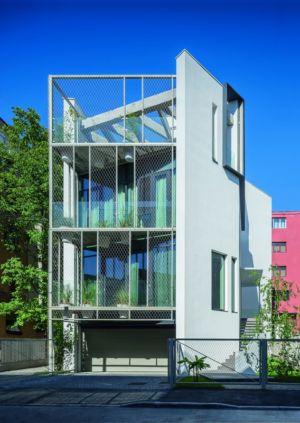 vue d'ensemble - Urban-Eco-House par Tecon Architects - Bucuresti Roumanie