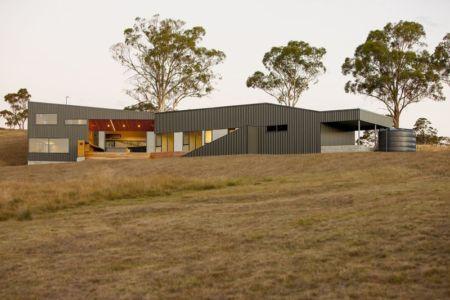 vue d'ensemble - Valley House par Philip M Dingemanse - Launceston, Australie
