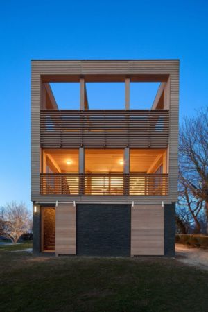 vue d'ensemble - Watch-Hill-House par Lubrano Ciavarra - New York, USA