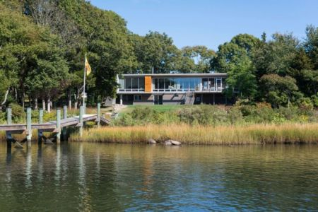 vue d'ensemble - Westport River House par Ruhl Walker Architects - Massachusetts, USA