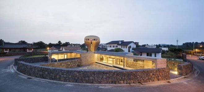 vue d'ensemble - Wind-House par Moonbalsso - Jesu Island, Corée du Sud