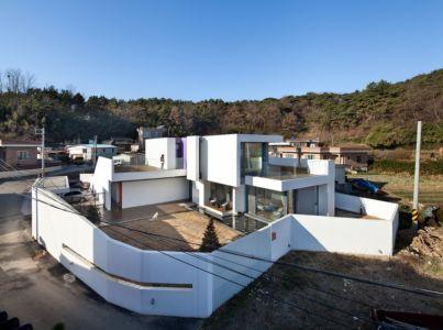 vue d'ensemble - Woljam-ri House par JMY architects - Gyeongsangnam-do, Corée du Sud