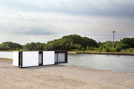 vue d'ensemble - Zero-Energy par Skilpod - Belgique