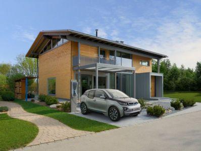vue d'ensemble - alpine-residence par Bau-Fritz - Munich, Allemagne