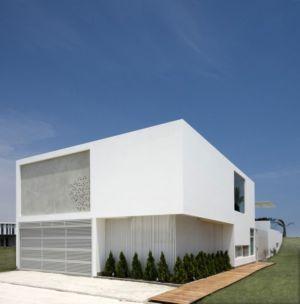 vue d'ensemble - casa-v par Estudio 6 Arquitectos - Perou