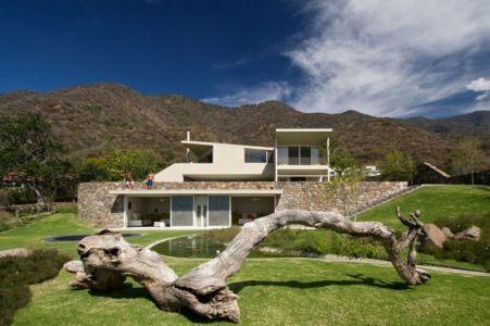 vue d'ensemble - case-del-lago par Juan Ignacio Castiello Arquitectos - San Juan Cosalá, Mexique