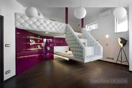 vue d'ensemble chambre 1 - House «Ecominimalizm». par Yakusha Design - Dnipropetrovsk, Ukraine