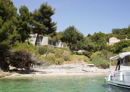 vue d'ensemble de la plage - Maison Le Cap par Pascal Grasso - Var, France