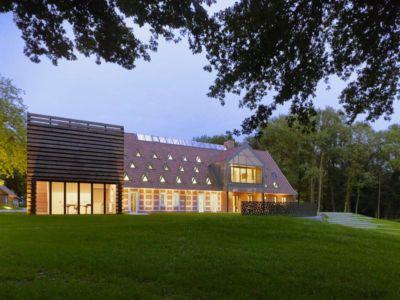 vue d'ensemble & façade jardin - German-Country-House par Reichel Architectes - Allemagne