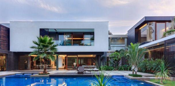 vue d'ensemble - home-pool par DADA-&-Partners - New Delhi, Inde