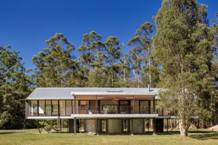 vue d'ensemble - house-built-zone par Robinson Architects - Pomona, Australie