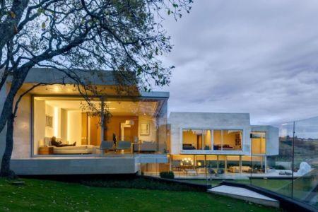 vue d'ensemble illuminée - Club-Residence par Migdal Arquitectos - Mexico, Mexique