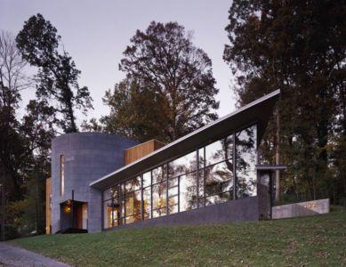 vue d'ensemble jour - Hargrave-Residence par Robert M. Gurney Architect - Maryland, Etats-Unis