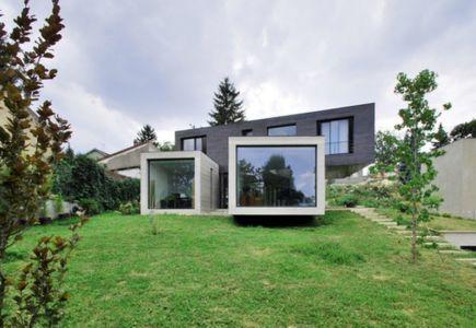 vue d'ensemble - maison exclusive par SKP Architecture - Créteil, France