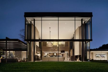 vue d'ensemble - modern farmhouse par Meyer Davis studio - Nashville, USA