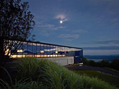 vue d'ensemble nuit - Shokan-House par Jay Bargmann - New York, USA