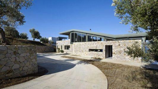 vue d'ensemble - résidence exclusive par Z-Level - île Kios, Grèce