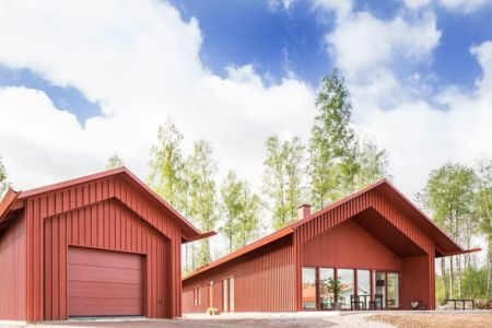 vue d'ensemble - villa-vallmo par Thomas Sandell - Skaraborg, Suède