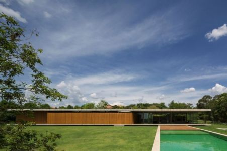vue depuis piscine - Redux House par Studio mk27 - Brésil