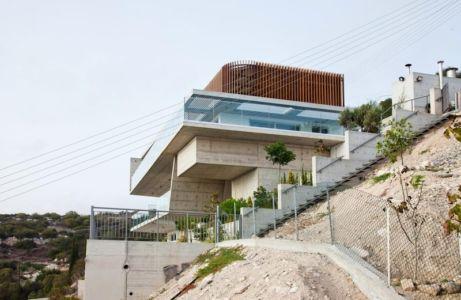 vue en contrebas - Prodromos and Desi Residence par VARDAstudio - Paphos, Chypre