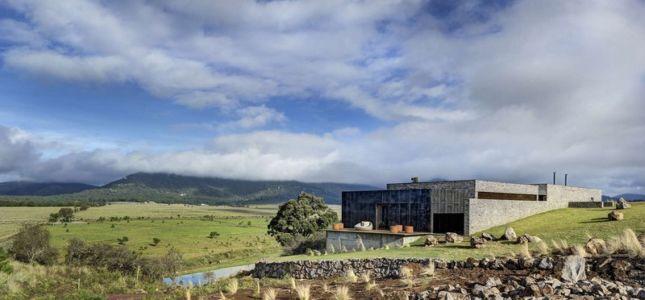 vue ensemble - Casa BS par  Elías Rizo Arquitectos - Tapalpa, Mexique