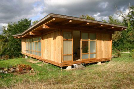 vue entrée - Maison dans la prairie par Arba - Montreuil, France