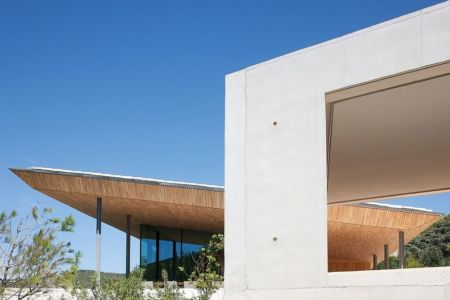 vue ext - Alon House par AABE et Partners -France